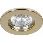 Светильник потолочный, MR16 G5.3 золото, DL10