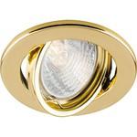 Светильник потолочный, MR16 G5.3 золото, DL11