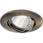 Светильник потолочный, MR16 G5.3 античное золото, DL308