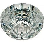 Светильник потолочный, JCD9 35W G9 с прозрачным стеклом,хром, JD87