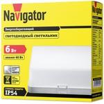 Светильник Navigator 71 581 NBL-S1-6-4K-IP54-LED