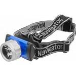 Фонарь Navigator 94 949 NPT-H02-3AAA налобн. 3 реж. 1LEDx1Вт, блист.