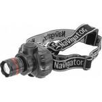 Фонарь Navigator 94 950 NPT-H03-3AAA налобн. 3 реж.,фокус, 1LEDx1Вт, блист.