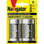 Элемент питания Navigator 94 755 NBT-NE-LR20-BP2