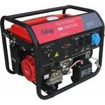 Бензиновая электростанция с электростартером и коннектором автоматики fubag bs 7500 a es