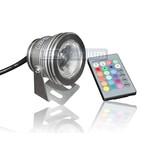 Точечный прожектор S-CD76P-RGB (AC85-265, 10W, RGB, стальной корпус)
