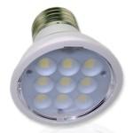Светодиодная лампа E27 PAR16-4W (белый)