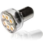 Лампа SEA-BAY15d 6-LED5050-12V (теплый белый)