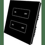 Встраиваемая панель-пульт SR-2805T1 (2501-N/NEA, диммер, 2 зоны)