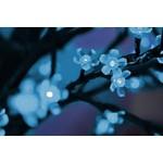 """Светодиодное дерево """"Сакура"""", высота 2,4м, диаметр кроны 2,0м, синие светодиоды, IP 64, понижающий т"""