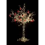"""Светодиодное дерево """"Яблоня"""", высота 2.5 м, 20 красных яблок, тепло-белые светодиоды, IP 54, понижаю"""