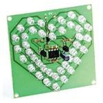 Радиоконструктор RL204 Мигающее сердце на светодиодах