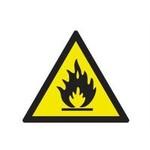 Знак 150х150мм Пожароопасно SQ0817-0025 TDM