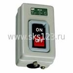 Выключатель кнопочный ВКИ-216 трехполюсный 10А IP40 230/400В (KVK20-10-3)