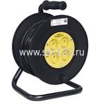 Удлинитель силовой 4 розетки шнур 20м ПВС 3х1.5 УК20т с термозащитой (WKP10-16-04-20)