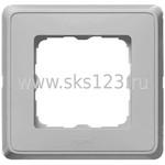 CARIVA Рамка 1 пост алюминий (773671)