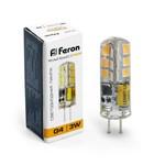 Лампа светодиодная, 48LED (3W) 12V G4 2700K, DS, LB-422