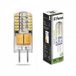 Лампа светодиодная, 48LED (3W) 12V G4 4000K, DS, LB-422