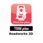 ПО для тахеометров Leica Roadworks 3D (TS06)
