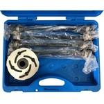 Набор оправок для монтажа и демонтажа сайлентблоков 34-82мм, кейс, 6шт мастак 110-20006c