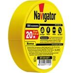 Изолента Navigator 71 112 NIT-A19-20/Y жёлтая