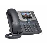 Cisco SB SPA525G2 IP телефон с 5 линиями с цветным дисплеем, PoE, 802.11g, Bluetooth (без блока пита