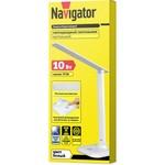 Настольная лампа Navigator 94 683 NDF-D015-10W-6K-WH-LED на основании, белый