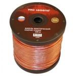 Акустический кабель 2х2,5мм2 прозрачный, медь, россия, 100м pro legend pl3007