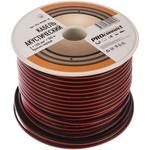 Акустический кабель 2х1.00 кв.мм, красно-черный, 100м proconnect 01-6105-6
