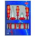 KNIPEX Набор электроизолированных инструментов VDE 5 предметов WERA KNIPEX KN-002013