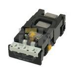 Розетка Legrand Mosaic 2х2К+3 для установки в кабель-канале автоматические клеммы стандартная белая