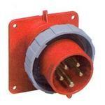 Вилка ABB 332P6W 32А 3P+E IP67 силовая кабельная переносная