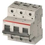 Автоматический выключатель ABB 3-полюсной S803S C80