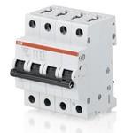 Автоматический выключатель ABB 3P+N S203M B40 NA 3-полюсной с разъединением нейтрали
