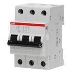 Автоматический выключатель ABB 3P+N S203P C63NA с разъединением нейтрали