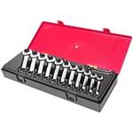 Набор комбинированных укороченных ключей 6-19мм в кейсе 14шт jtc-k6143