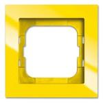 Рамка 1-постовая, серия axcent, цвет жёлтый (1721-285)