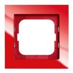 Рамка 1-постовая, серия axcent, цвет красный (1721-287)