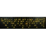 Светодиодная бахрома 3x0.5 м желтый