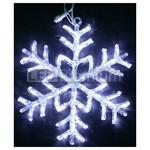 Снежинка светодиодная акриловая 40 см, белый