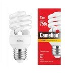 Лампа люминесцентная компакт. CF AS T2 15Вт/827/E27; 10620