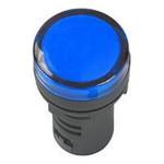 Лампа индикатор AD16DS (LED) матрица d16мм синий 12В AC/DC ИЭК