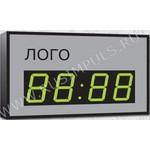 Импульс-410M-EURO-R Часы-календарь