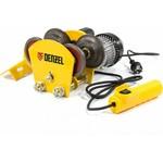 Электрическая каретка для тельфера denzel t-1000 52009