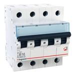 Автоматический выключатель Legrand TX3 B16A 4П 6kA