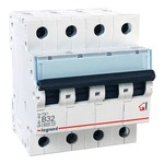 Автоматический выключатель Legrand TX3 B32A 4П 6kA