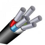 Силовой алюминиевый кабель АВВГ 5х10 (N, PE)-0.660 однопроволочный|0526300001 АЛЮР