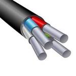 Силовой алюминиевый кабель АВВГ 4х2.5 (PE)-0.660 однопроволочный|0523900001 АЛЮР