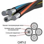 Самонесущий изолированный провод СИП-2 3х35+1х50-0.6/1 ТРТС многопроволочный|40004829 Энергокомплект МФ