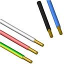 Силовой одножильный провод ПУВ (ПВ-1) 1х0.5 белый однопроволочный 0456 02 02 РЭК/Prysmian